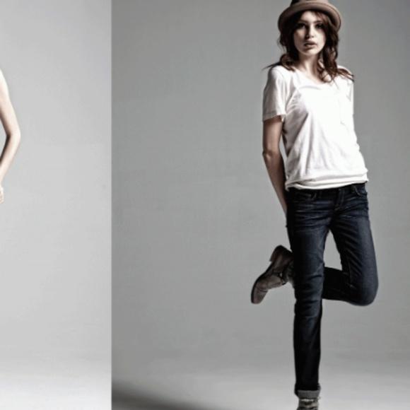 Kasil Denim - *HP* Kasil Black Vixen Straight Jeans